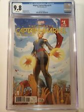 MIGHTY CAPTAIN MARVEL #1 (CGC 9.8) 2017 FIRST ISSUE! E. TORQUE COVER ART