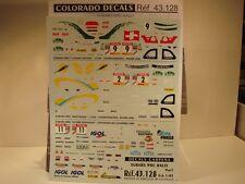 DECALS 1/43 SUBARU RALLYE WRC 1999/2000 - CARPENA  43128