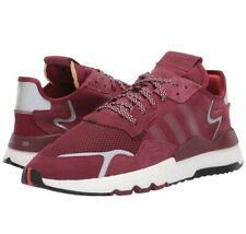 Adidas 3M Nite Jogger Burgundy Running Shoes EE5870 Mens Size 9.5 Fast Shipping