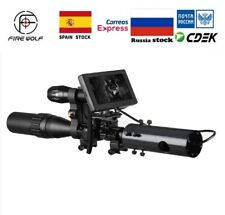 Diy Night Vision Scope Digital Camera For Rifle Scope With Ir Torch & Scope Cam
