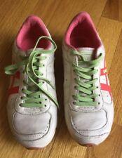 Women's Diesel AVY LEA Lace Up Leather Sneakers Size 5.5