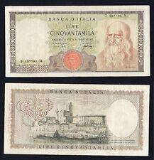 R2  50 mila lire Leonardo 1967 (NUMERI  RADAR)