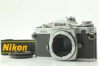 {ALMOST MINT} Nikon FM3A Silver 35mm SLR Film Camera Body from JAPAN #143B