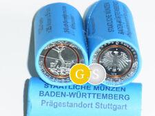 Rolle Roll 25 x 5 Euro BU Subtropische Zone BRD 2018 Germany - F - Stuttgart