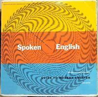 Spoken English - Guide To Modern English Nine & Ten 2 LP VG+ 1960 Word Record