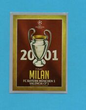 TOPPS-CHAMPIONS 2015-2016-Figurina n.593-FINALE-2001-MILANO-NEW