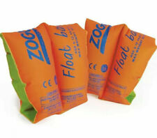 Zoggs Float Bands / Arm Bands / Swimming Pool Aid - 3-6 Years (15-25kg) - New
