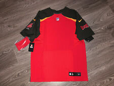 Tampa Bay Buccaneers Nike Elite Authentic On-Field Blank Jersey 48 XL AA2025-657