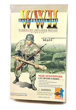 "Dragun Military Toy GERMAN GRENADIER PRIVATE 1945 12"" soldier boxed figure"