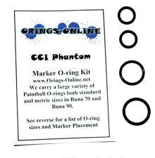 CCI Phantom Paintball Marker O-ring Oring Kit x 2 rebuilds / kits