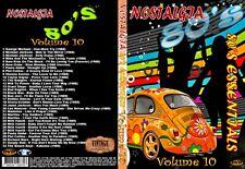 Nostalgia V10 80s Essentials Music Video DVD No1s&Smash Hits Promo For Home Use