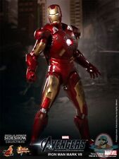 The Avengers Iron Man Mark VII 1/6 Scale Figure by Hot Toys Used JC