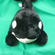 "Big 20"" Plush Seaworld Park Lovey Shamu Killer Whale Orca Stuffed Animal Prize"