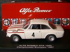 ALFA ROMEO 1600 GTA #4 CAMPIONATO EUROPEO 1967 JOLLY CLUB M4 7145 1/43