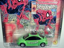 2003 Johnny Lightning Marvel #01 Spiderman '98 Volkswagen Beetle
