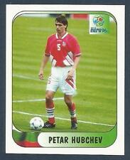 MERLIN-EURO 96 WITHDRAWN STICKER- #123-BULGARIA-PETAR HUBCHEV