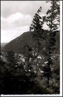 Bad Berneck Bayern Postkarte ~1950/60 Fichtelgebirge Gesamtsansicht AK gebraucht