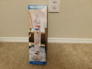 "New Acu Rite 13"" Galileo Thermometer"