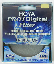 Hoya 62mm Protector Pro1 D Digital Pro 1D Lens Filter New & Sealed UK Stock