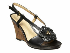 Leather Medium Width (B, M) Slim Solid Sandals for Women
