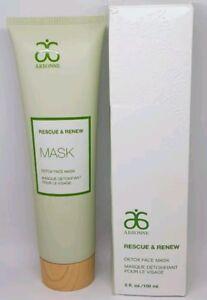 Arbonne Rescue & Renew Detox Face Mask 150ml Vegan New Boxed RRP £43