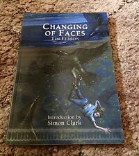 CHANGING OF FACES Tim Lebbon 1st ed 500 COPY SIGNED/LIMITED TP fine OOP
