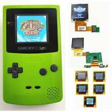 Nintendo Game Boy Color GBC System Backlight Backlit Brighter Mod Kiwi Green
