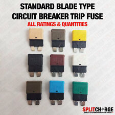 Circuit Breaker Blade Trip Function In Blade Fuse Housing Auto-Reset  All Amps
