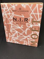 6x Moet Chandon Nectar Imperial Rose Champagner N.I.R. LED Flasche 0,75l 12% Vol