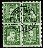 Denmark SC# 167a, Used, with Gum, Mint Hinged, Favor Cancelled - S2910