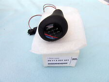 BMW E30, E36 M3, Z3 ILLUMINATED LEATHER SHIFT KNOB, BRAND NEW, GENUINE, OEM