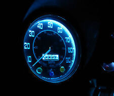 Triumph TR250 GT6 Herald Vitesse Dash Instrument Ice Blue LED Bulb Upgrade x2
