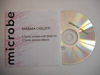BARBARA CARLOTTI : TUNIS ( 2 VERSIONS ) [ CD SINGLE ] ~ PORT GRATUIT