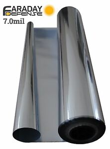 """Faraday Cage - ESD EMP 7.0MIL Thick Material 5 Yards X 36"""" Survivalists Preppers"""