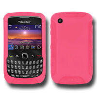 NEW AMZER BABY PINK SILICONE SKIN JELLY CASE FOR BLACKBERRY CURVE 8530/3G 9300