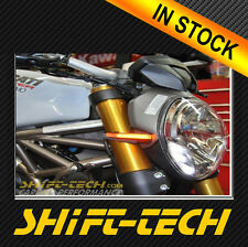 ST914 DUCATI MONSTER 1200 821 796 696 1100 LED FRONT TURN SIGNAL SET