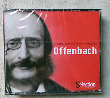 COFFRET 4XCD GRANDS  COMPOSITEURS  FRANÇAIS OFFENBACH  READER'S DIGEST NEUF