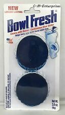Bowl Fresh Automatic Toilet Bowl Cleaner ‑ 2 tablets  3.4 oz Blue Water