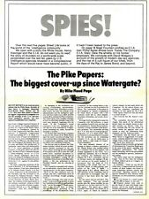 SL2/4/76p17 Spies : The Pike papers Article & Picture