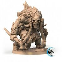 TROLL WARRIOR SCALE 32mm MORDHEIM ZOMBICIDE DnD ROL WARHAMMER SKIRMISH