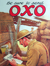 OXO & Biscuits Army,Be sure to send OXO,Retro metal Sign Novelty Gift, Kitchen