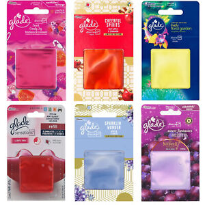4 X Glade Discreet Refills from £3.99!! Choose Fragrance/Scent  - 8 available!!