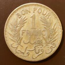 Tunesien 1 Franc 1921