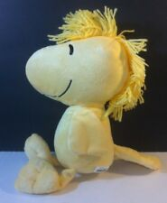 """Woodstock Bird Yellow Peanuts Plush Toy new without tags 10"""" lovie"""
