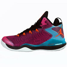 Nike Jordan Super.Fly 3 Mens 684933-625 Pink Teal Orange Basketball Shoes Sz 9.5