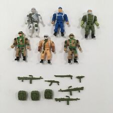 Men of Medal, 6 figure lot with Accessories and Weapons