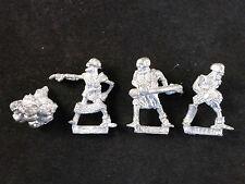 Clásico del cráneo esqueleto ciudadela Metal no-muertos Chukka catapulta Crew + pila de cráneos