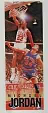 1988 MICHAEL JORDAN vs Kenny Walker Costacos dealer promo Large STICKER mint