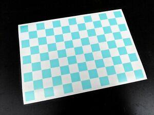 Precut RC Chequered Flag Paint Masking Sheet, Masks, Stencil For Body Shell 1/10