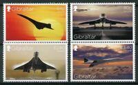 Gibraltar 2019 MNH Concorde 50th Anniv 4v Set Aviation Stamps